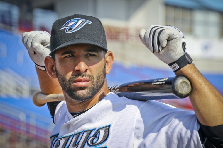 Blue Jays held picture day at Florida Auto Traders Stadium before they worked out at  the Bobby Mattick Training Center at Englebert Complex, in Dunedin.